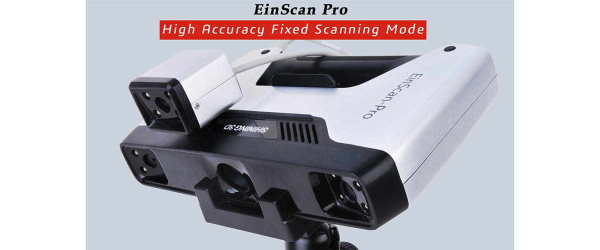 EinScan-Pro All in one versatility, EinScan-Pro Full color scan